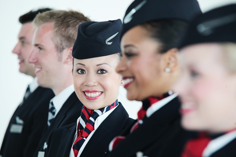 Cabin Crew Lesley-Ann Au-Yeung,  British Airways Mixed Fleet, T5, London Heathrow, UK, 15 June 2011 (Photo by Nick Morrish/British Airways)