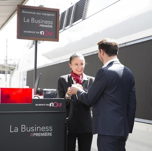 SNCF vous présente La Business PREMIERE