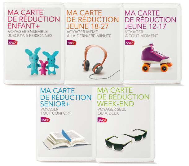 Promotion sur le renouvellement des cartes de réduction SNCF
