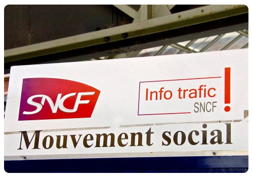 FLASH INFO : MOUVEMENT SOCIAL SNCF