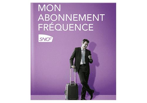 Promotion SNCF – Fréquence 50 1 an sur parcours déterminés