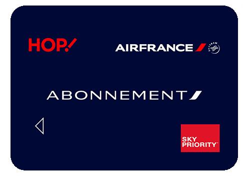 carte d abonnement air france Promotion sur la carte d'abonnement Air France