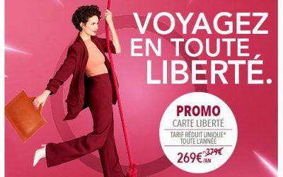 SNCF : promotion sur la carte Liberté